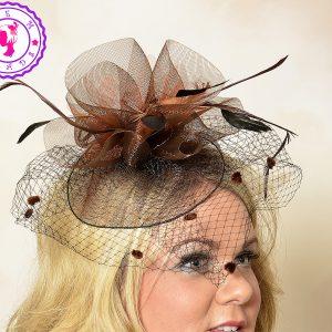 52a0af0f2d5 Navy Margaret Wedding Hat – Jem Heads